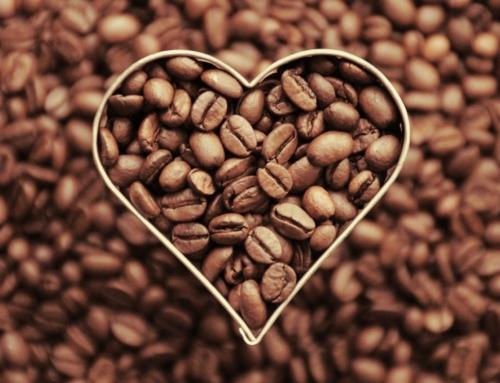 Kaffebohnen-Glück